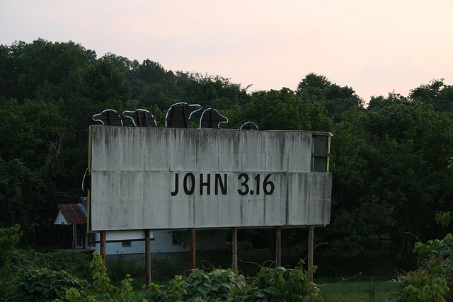 John 3:16 by Flick user Doug Floyd