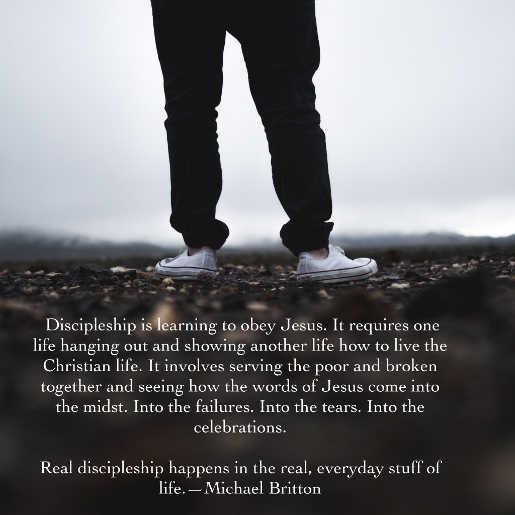 discipleship happens
