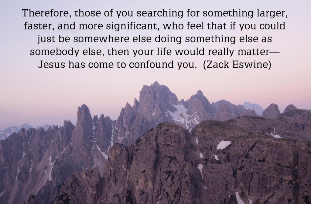 Zack Eswine