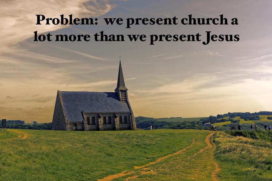 present Jesus