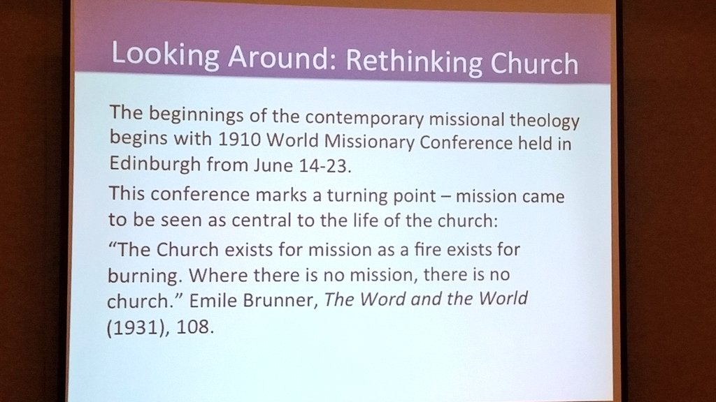 missional history