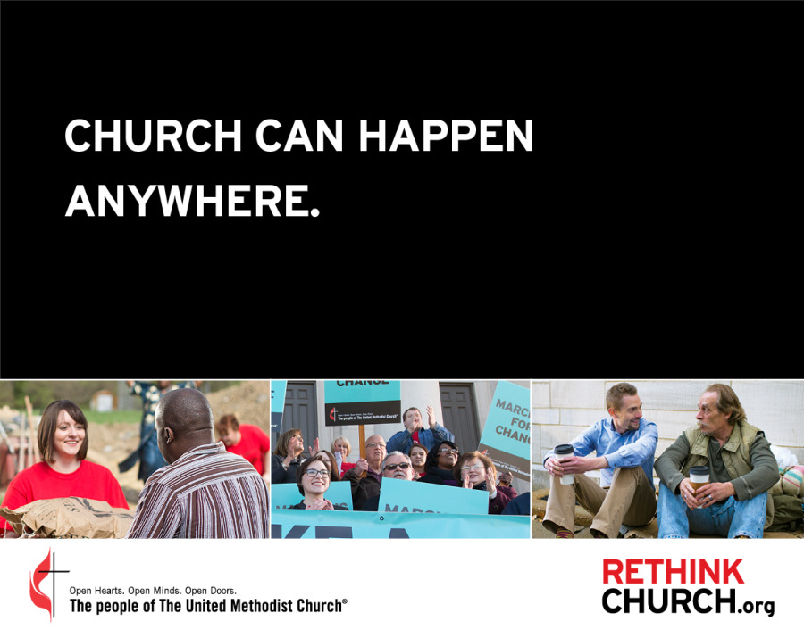 Church can happen anywhere